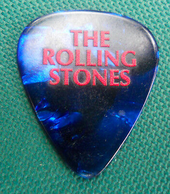 Official ROLLING STONES 2017 Tour GUITAR PICK
