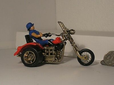 Vintage Britains Chopper Trike Motorcycle Rrrumblers clone Bike with Rider SWEET