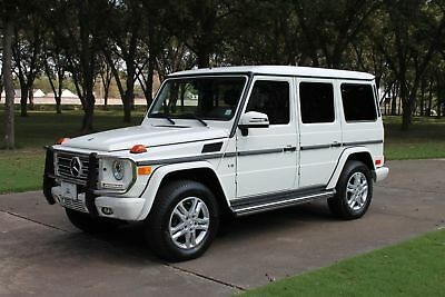 2013 Mercedes-Benz G-Class G550 Designo One Owner Perfect Carfax Extremly Low Miles New Michelin Tires MSRP $116055