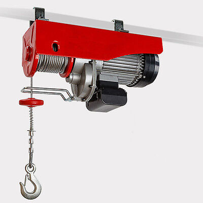 600/1200 kg Electric Hoist Winch 2000 Watt Motor