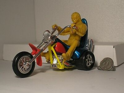 Matchbox Speed Kings EASY RIDER Motorcycle Trike With Original RARE Bike Rider