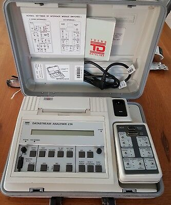 Vintage TREND DATASTREAM ANALYSER 274 selling for parts has not been tested