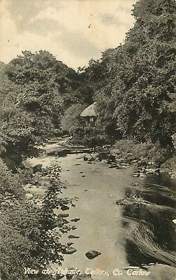 Postcard Antique View At Aghade Tullow Co. Carlow 1906 Maher Unposted