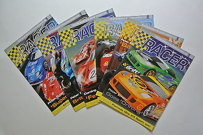 Official Scalextric Racer Magazine ISSUES: 46 47 48 49 50 51 Scalextric Club