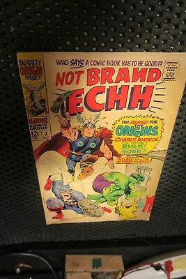 Marvel Comics Not Brand Echh #3