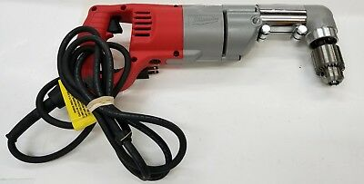 "Milwaukee 1107-1 1/2"" Corded Right Angle Drill Used"