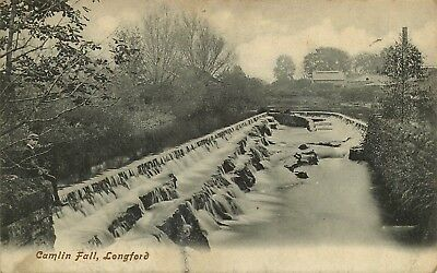 Postcard Antique Camlin Fall Co. Longford 1910 Posted