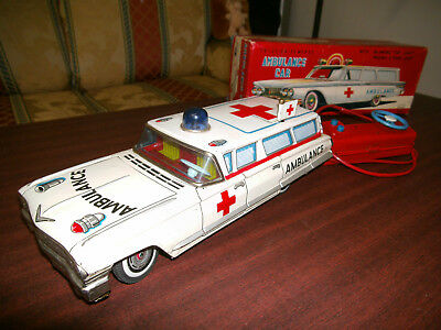 AMBULANCE CadillacYONEZAWA Toys JAPAN