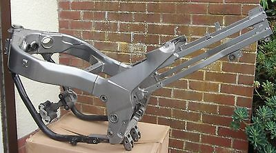 Kawasaki ZZR1100 D4 1997 Frame and subframe with V5