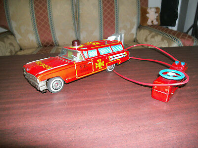 Cadillac FIRE CHIEF Yonezawa Toys JAPAN