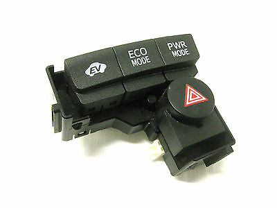 2011 Toyota Prius Ev Eco Mode Power Mode Hazard Switch Button Oem 10 11 12