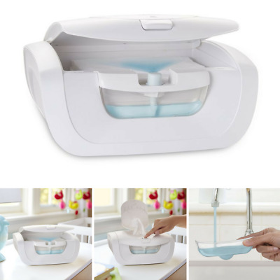 Mist Wipe Warmer W/ Warming System Prevents Browning Drying Discoloration White