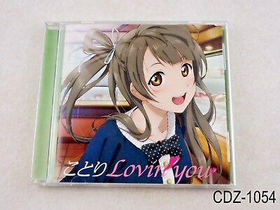 Love Live! Solo Live Collection Minami Kotori μ's Lovin you CD Japanese Import