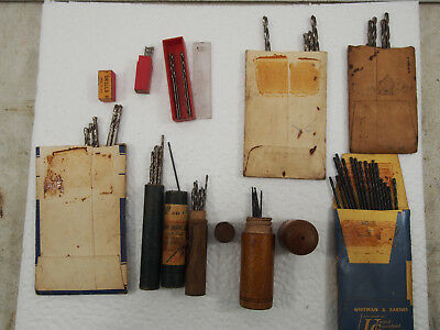 Selection Of Vintage Drills, Whitman & Barnes, Hayden, Red Shield & More