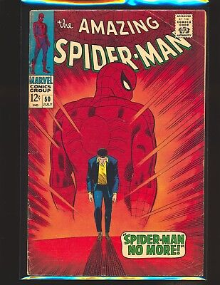 Amazing Spider-Man # 50 - 1st Kingpin VG+ Cond.