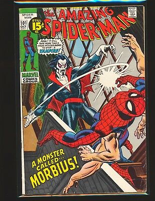 Amazing Spider-Man # 101 - 1st Morbius the Living Vampire VG Cond.