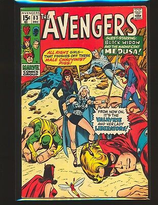Avengers # 83 - 1st Valkyrie Fine Cond.