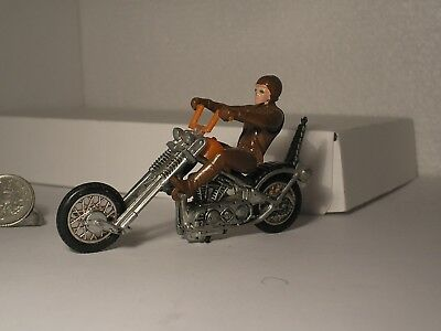 Vintage RRRumblers Mean Machine Redline Era Hotwheels Motorcycle HD Bike & Rider