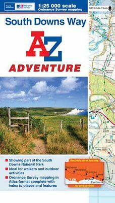 South Downs Way Adventure Series (Adventure Atlas) by Geographers A-Z Map Co Ltd