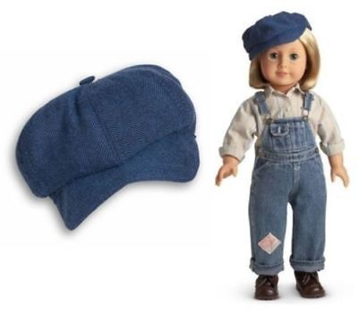 American Girl Doll Kit Overalls Hobo Outfit Ex. Condition Retired