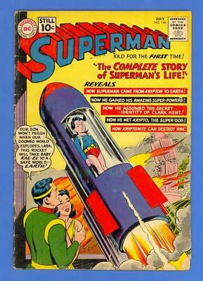 Superman #146 – Dc Comics (1961) – The Story Of Superman'S Life!