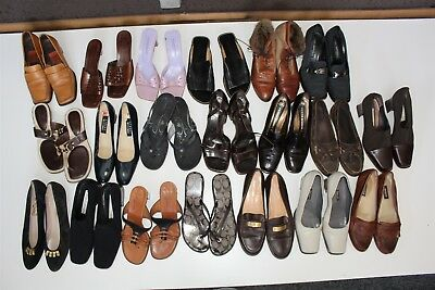 Lot Wholesale Used Shoes Rehab Resale Salvatore Ferragamo Bally Coach zNwZ