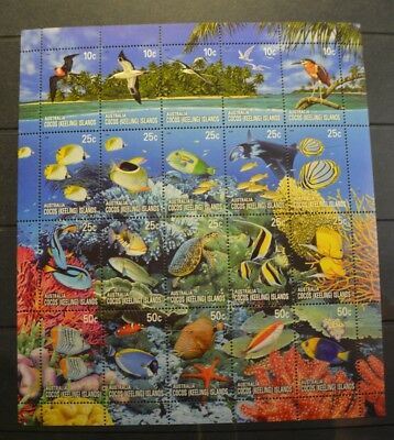 Cocos Island 2006 Coral Reef $5.5  sheetlet MUH  s6