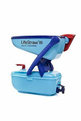 LifeStraw Family 2.0 - 12 Litre Portable point-of-use water filter with tap