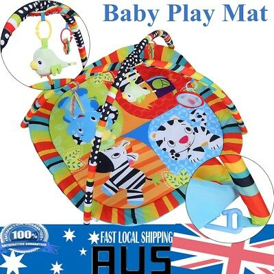 83x83 cm Baby Play Mat Mobile Activity Symphony Motion Happy Birds Gym Xmas Gift