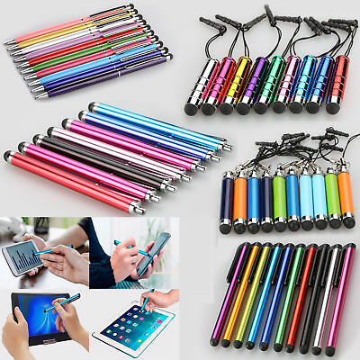 10X Universal Mini Extendable Stylus Ball Point Touch Screen Pen For Phones