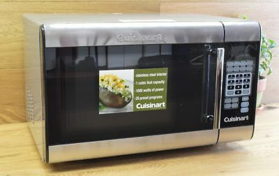 Cuisinart 1 Cu Ft 1000 Watts Stainless Steel Microwave Oven Cmw 100