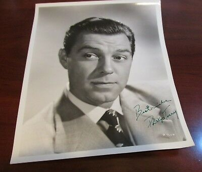 Phillip Terry Hand Signed Photo Vintage....American Actor