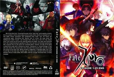 ANIME DVD~ENGLISH DUBBED~Fate/Zero(1-25End)All region FREE SHIPPING+FREE GIFT