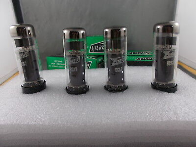 Tubes x 4   6CA7  EL34  Zaerix England.  New Old Stock