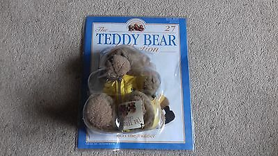 The Teddy Bear Collection:  Number 27 BERT THE BUILDER