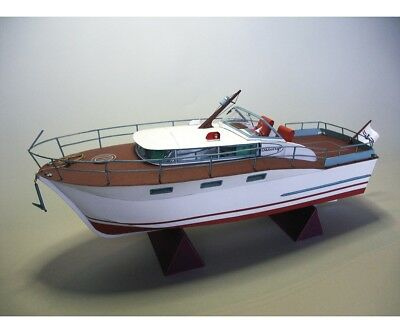 Modellbaubogen Chris Craft Futura Sports Express Cruiser | Aue-Verlag 71008
