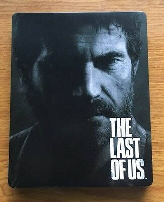 Video Game Last of US custom Iron disc box case Steelbook for PS4 Xbox disk
