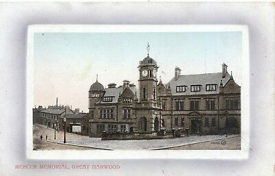 Lancashire Postcard - Mercer Memorial - Great Harwood - Ref ZZ4208
