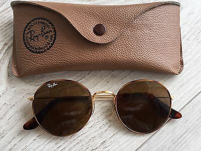 Ray Ban USA Type Lennon Arista Gold  Round Tortuga