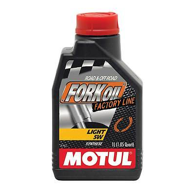 Motul Factory Line 5W Fully Synthetic Suspension Fork Oil 1 Litre - Motorcycle