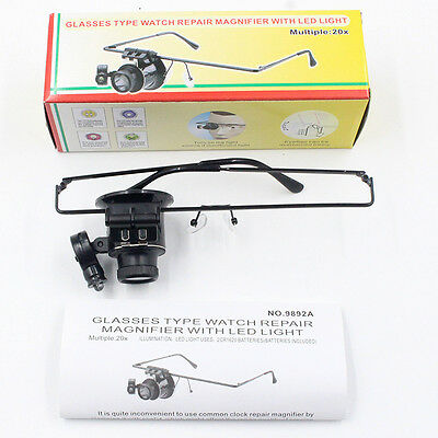 Watch Repair Magnifier With LED Light