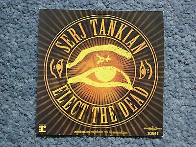 Serj Tankian: Elect The Dead flyer (2007) System Of A Down US Release