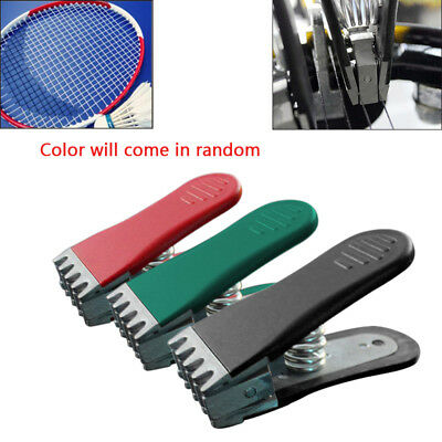 New Badminton Clamp Spring Loaded Tennis Flying Gripper Racket Stringing Tool