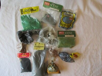 Mixed Lot Of Peco & Others, Scatter, And Scenic Materials. 0, 00, N.