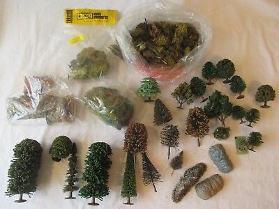 Riko & Others: Good Lot Of Mixed Trees , Cork & Scenic Materials. 0, 00, N. (2)