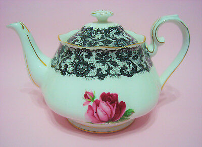 Rare Royal Albert SENORITA Medium Teapot.