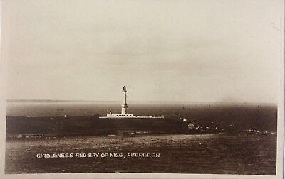 Girdleness And Bry Of Nigs, ABERDEEN, Aberdeenshire, RPPC 1925