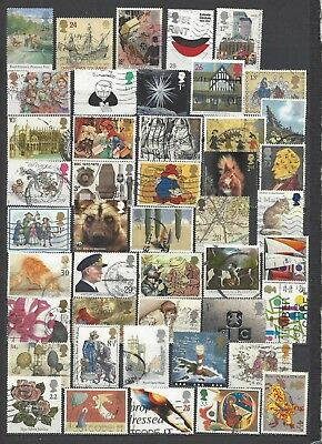 British stamps collection post decimal old stamps gb good mix all different