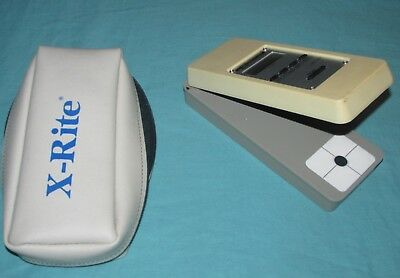 X-Rite 341 B/w Transmission Densitometer Dot Meter ( X Rite )