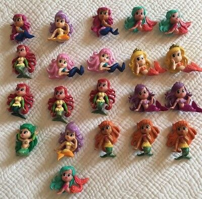 21 Magic Mermaids ( Bath Bomb) Toy Change Colour In Water -  Collectables